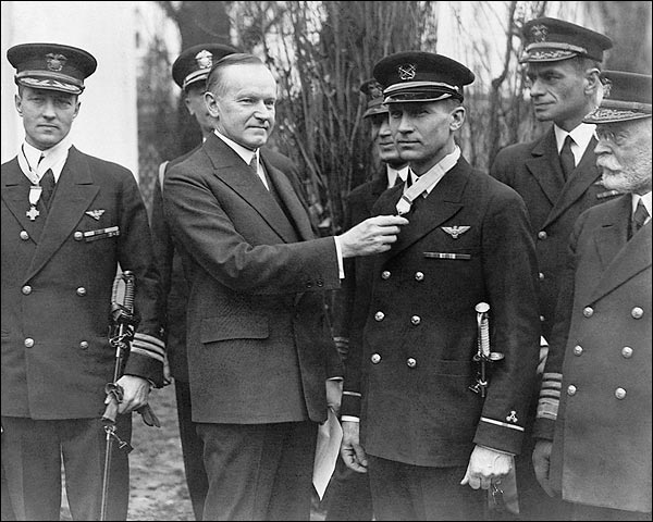 President Calvin Coolidge Presenting Medals Photo Print for Sale