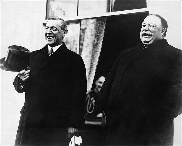Woodrow Wilson & William Howard Taft Photo Print for Sale