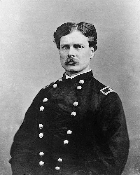 Civil War General George Forsyth Portrait Photo Print for Sale
