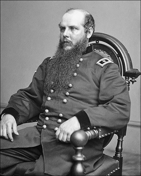 Civil War General John Schofield Portrait Photo Print for Sale