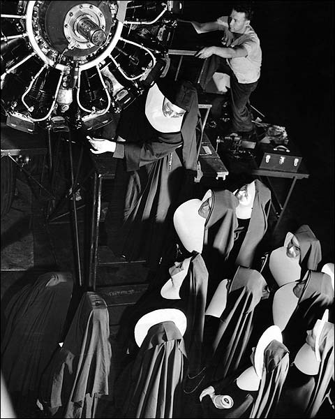 Ann Rosener WWII Flying Nuns Training FSA Photo Print for Sale