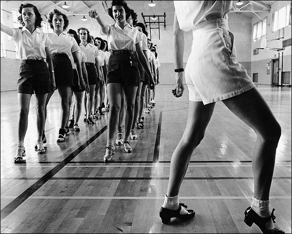 Jack Delano Iowa State College Tap Dancers Photo Print for Sale