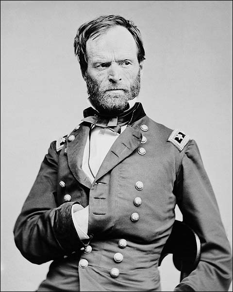 Civil War General William T. Sherman Photo Print for Sale