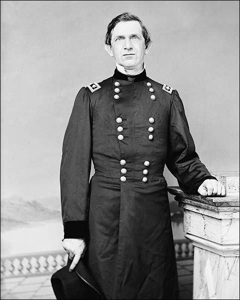 Civil War General Edward Canby Portrait Photo Print for Sale
