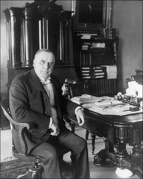 President William McKinley Seated Portrait Photo Print for Sale