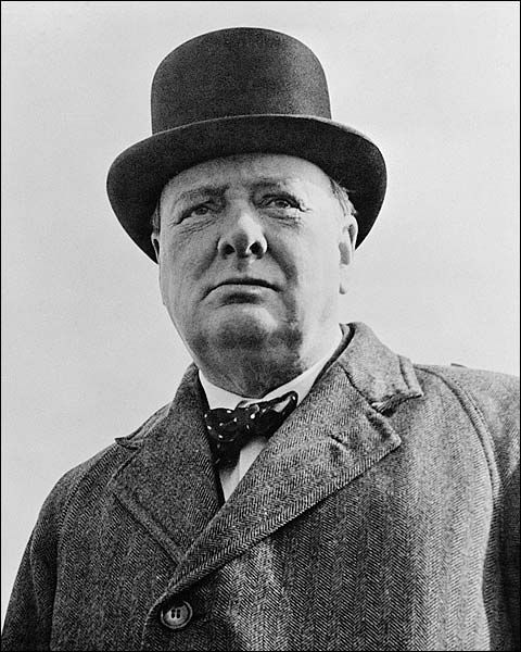 British Prime Minister Winston Churchill Photo Print for Sale