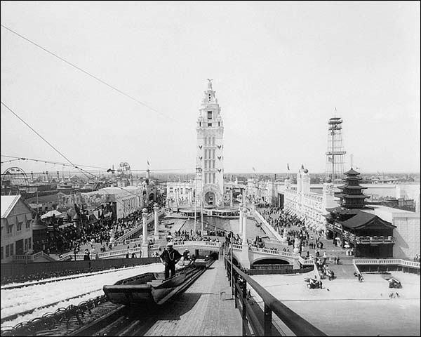 Coney Island New York Amusement Park 1904 Photo Print for Sale