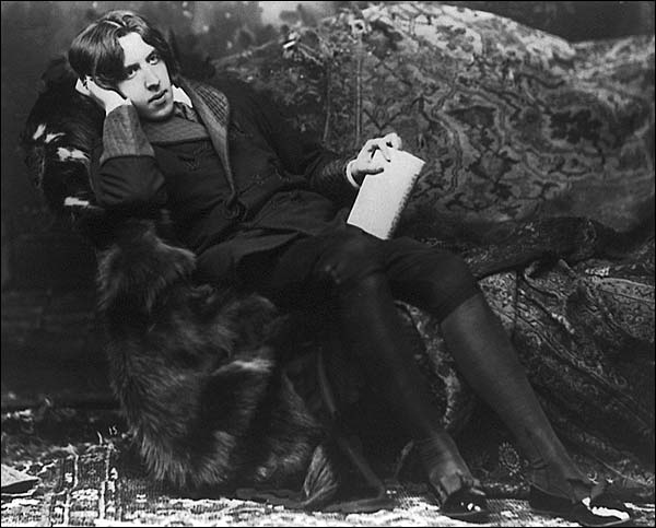 Oscar Wilde Reclining Sarony Portrait Photo Print for Sale