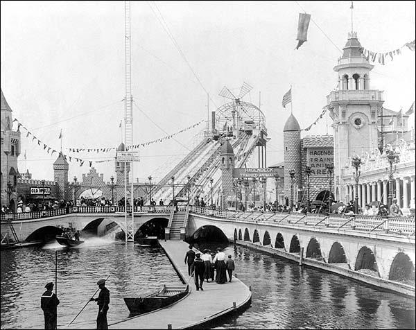 Coney Island New York Luna Park 1904 Photo Print for Sale