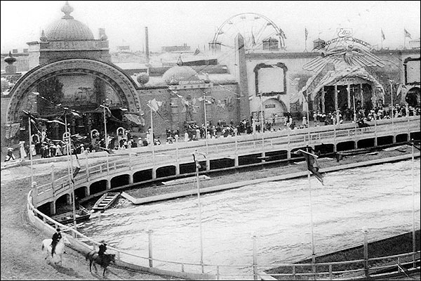 Coney Island 1908 Hippodrome at Dreamland Photo Print for Sale