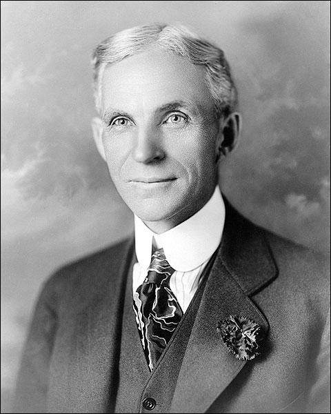 Henry Ford Head & Shoulder Portrait 1919 Photo Print for Sale