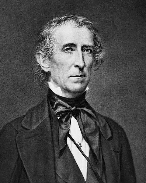 President John Tyler Portrait Photo Print for Sale