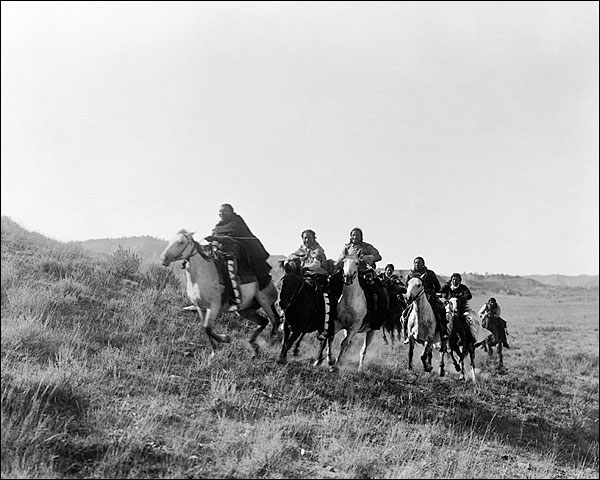 Edward S. Curtis Cheyenne Indians 1910 Photo Print for Sale