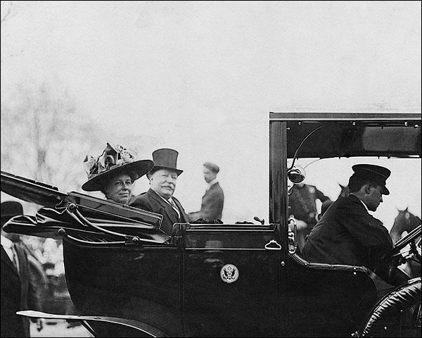 President William Howard Taft & Mrs. Taft Photo Print for Sale