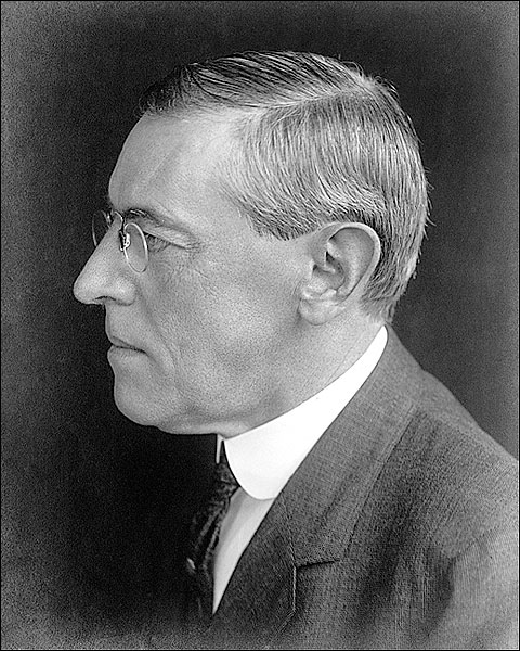Pres. Elect Woodrow Wilson 1912 Portrait Photo Print for Sale