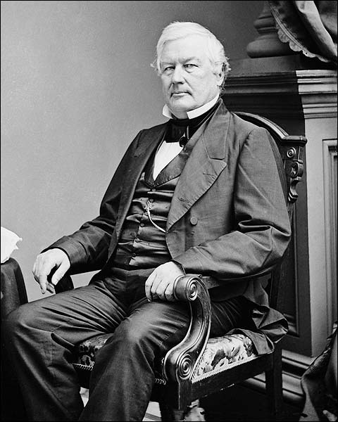 President Millard Fillmore Portrait Photo Print for Sale