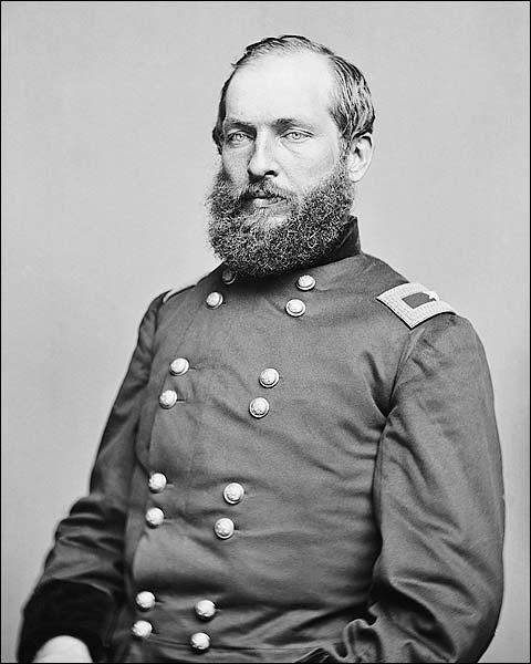 Civil War General James Garfield Portrait Photo Print for Sale