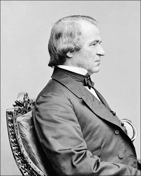 President Andrew Johnson Brady Portrait Photo Print for Sale
