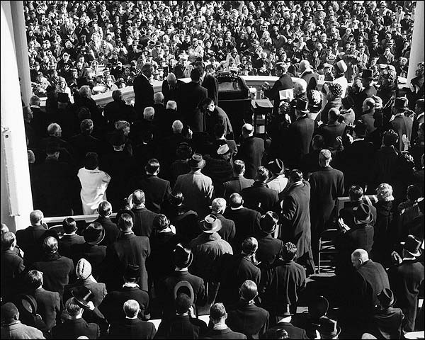 President John F. Kennedy Inauguration Photo Print for Sale