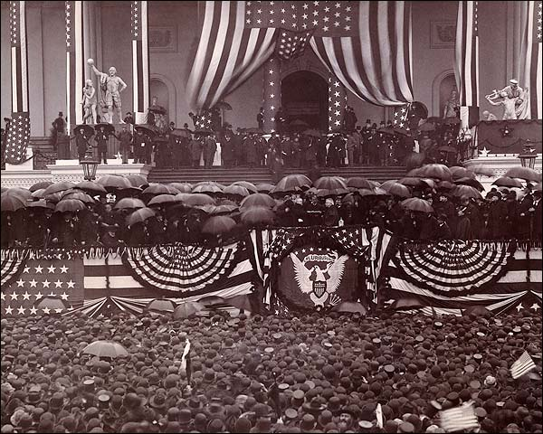 President Benjamin Harrison Oath of Office Photo Print for Sale
