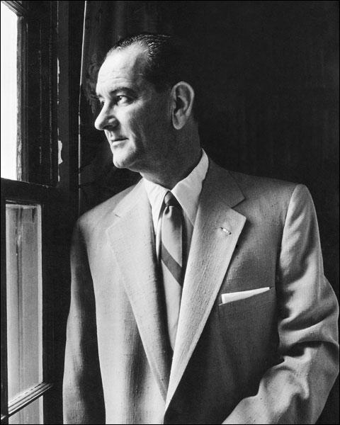 Senator Lyndon B Johnson Portrait Photo Print for Sale