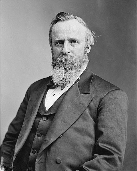 President Rutherford B Hayes Brady Portrait Photo Print for Sale