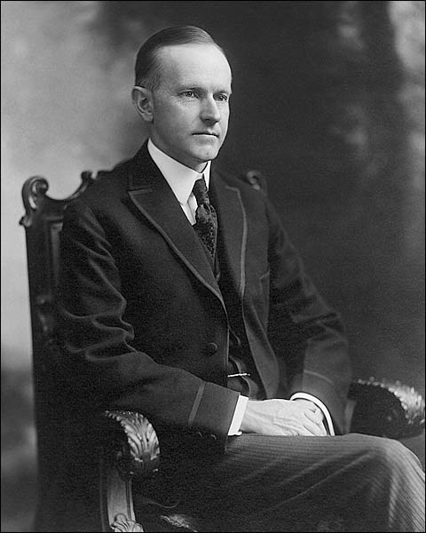 Governor Calvin Coolidge Portrait Photo Print for Sale