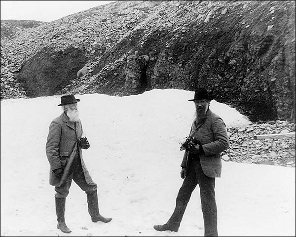 Edward S. Curtis John Muir & John Burroughs Photo Print for Sale