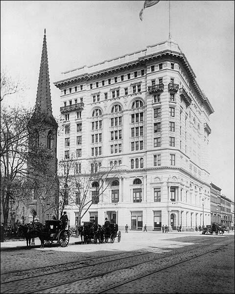 New York City Metropolitan Building, 1894 Photo Print for Sale