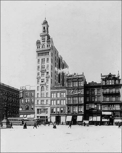 New York City Union Square, Decker Building Photo Print for Sale