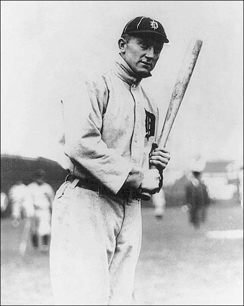 Detroit Tigers Ty Cobb 1914 Portrait Photo Print for Sale