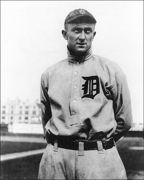 Ty Cobb Detroit Tigers Baseball Portrait Photo Print for Sale