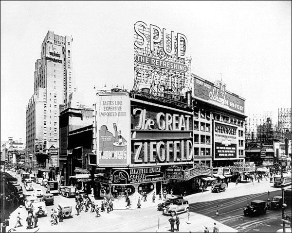 Great Ziegfeld Theatre New York City 1936 Photo Print for Sale