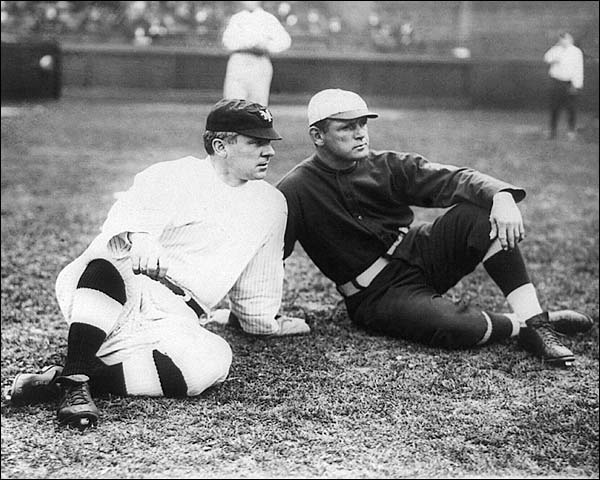 Baseball John J McGraw & Fred Tenney 1911 Photo Print for Sale