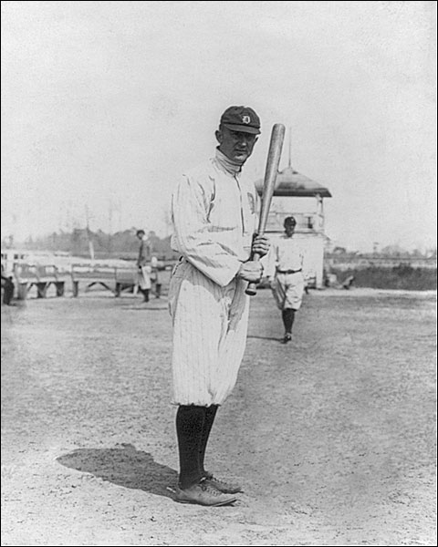 Detroit Tigers Ty Cobb Baseball Portrait Photo Print for Sale