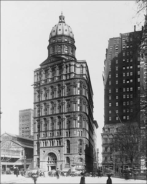 Pulitzer Building, New York City 1909 Photo Print for Sale