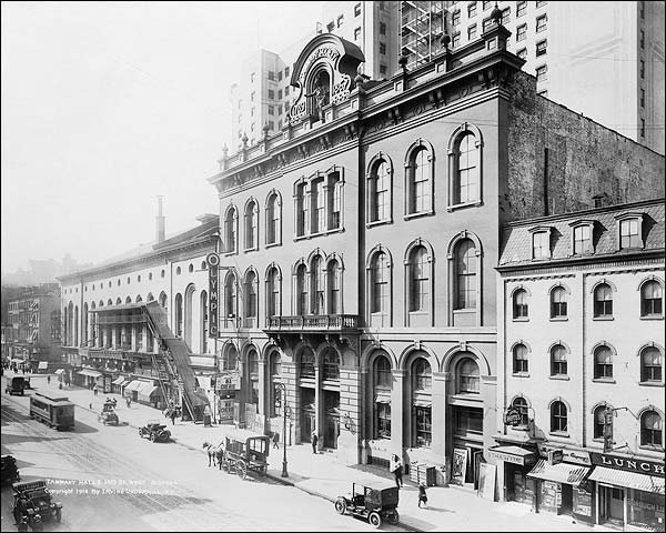Tammany Hall at 14th St, New York City 1914 Photo Print for Sale