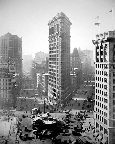 Flatiron Building 1916 New York City Photo Print for Sale
