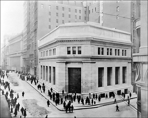 J.P. Morgan Building, New York City 1914 Photo Print for Sale