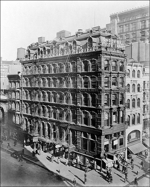 New York City Broadway & Park Avenue Photo Print for Sale