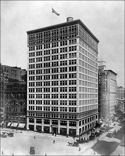 The Everett Building, New York City 1909 Photo Print for Sale