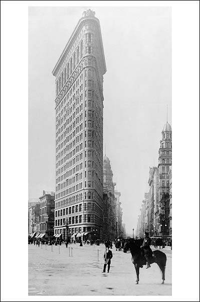 Flatiron Building, New York City 1905 Photo Print for Sale
