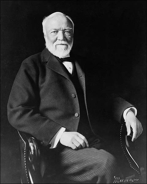 Andrew Carnegie Seated Portrait Photo Print for Sale