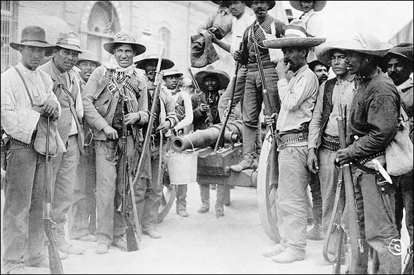 Mexican Revolution Soldiers, Juarez Mexico Photo Print for Sale