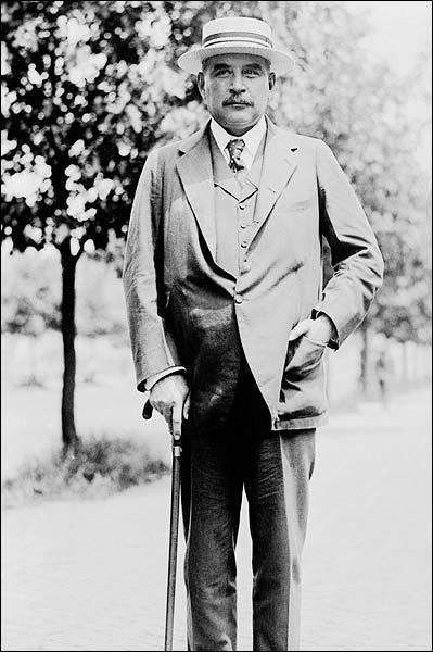 JP Morgan Jr. Portrait Standing 1919 Photo Print for Sale