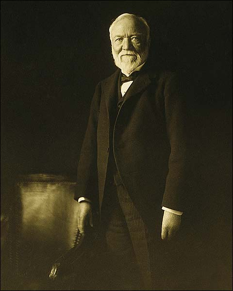 Marceau Portrait of Andrew Carnegie Photo Print for Sale