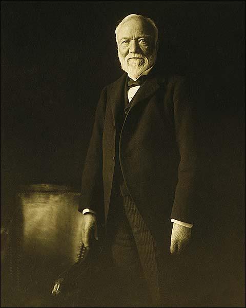 Marceau Portrait of Andrew Carnegie Photo Print for Sale