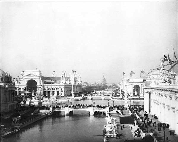 1893 Worlds Columbian Exposition, Chicago Photo Print for Sale