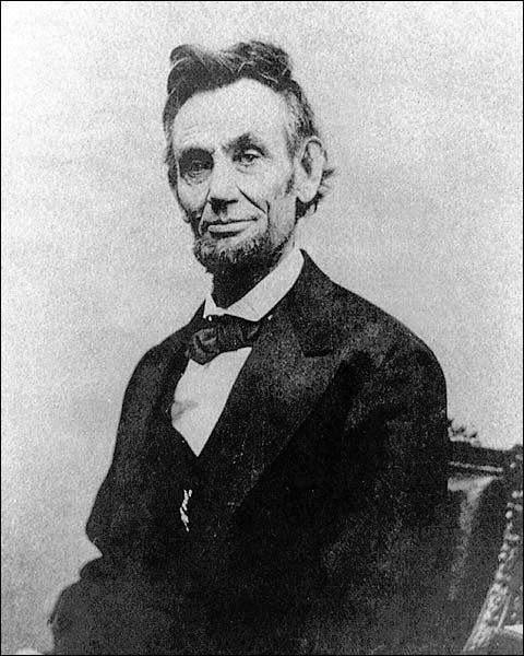 President Abraham Lincoln Alexander Gardner Photo Print for Sale