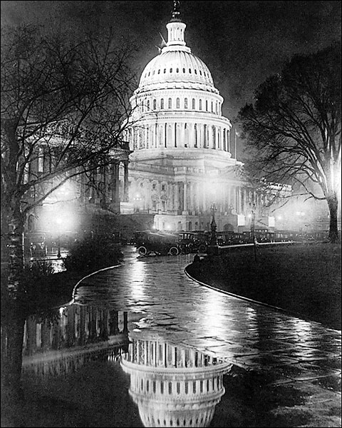 US Capitol Building Washington D.C. 1920 Photo Print for Sale